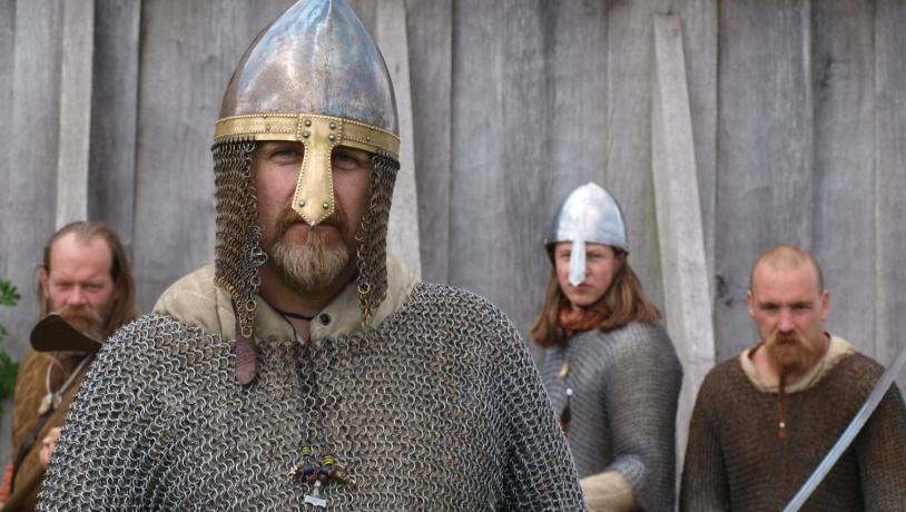 Vikings at Ribe Vikingecenter