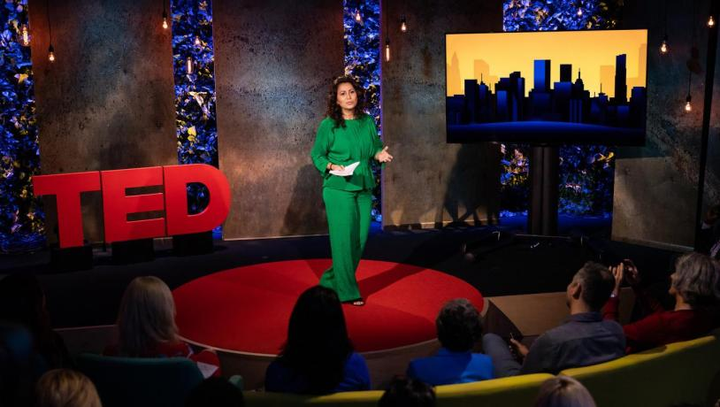 Oslem Cekic and her TED talk