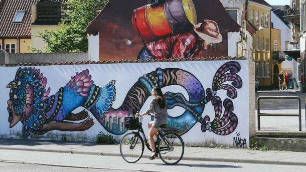 Street Art Aalborg SMALL GUIDES ONLY