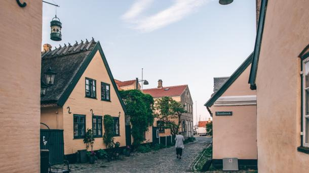 Dragør, yellow houses