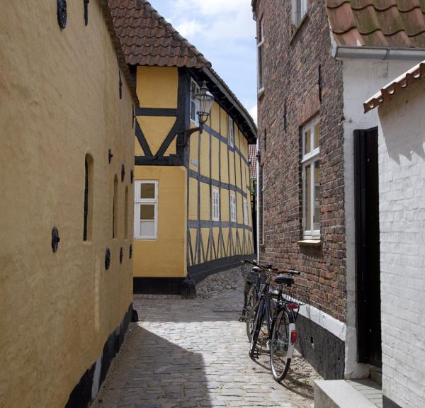 Ribe in South Jutland