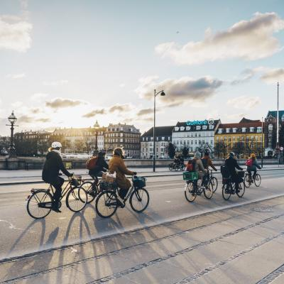 Queen Louise's Bridge Copenhagen Biking