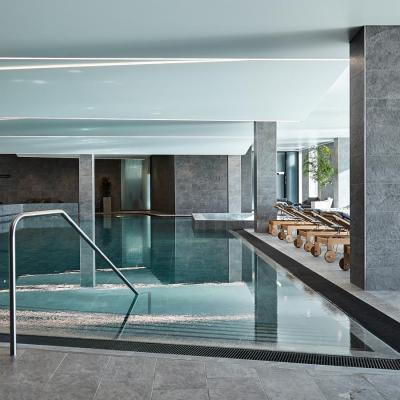 The spa pool at Hotel Alsik in Sønderborg
