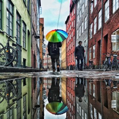 Rainy day in Magstræde