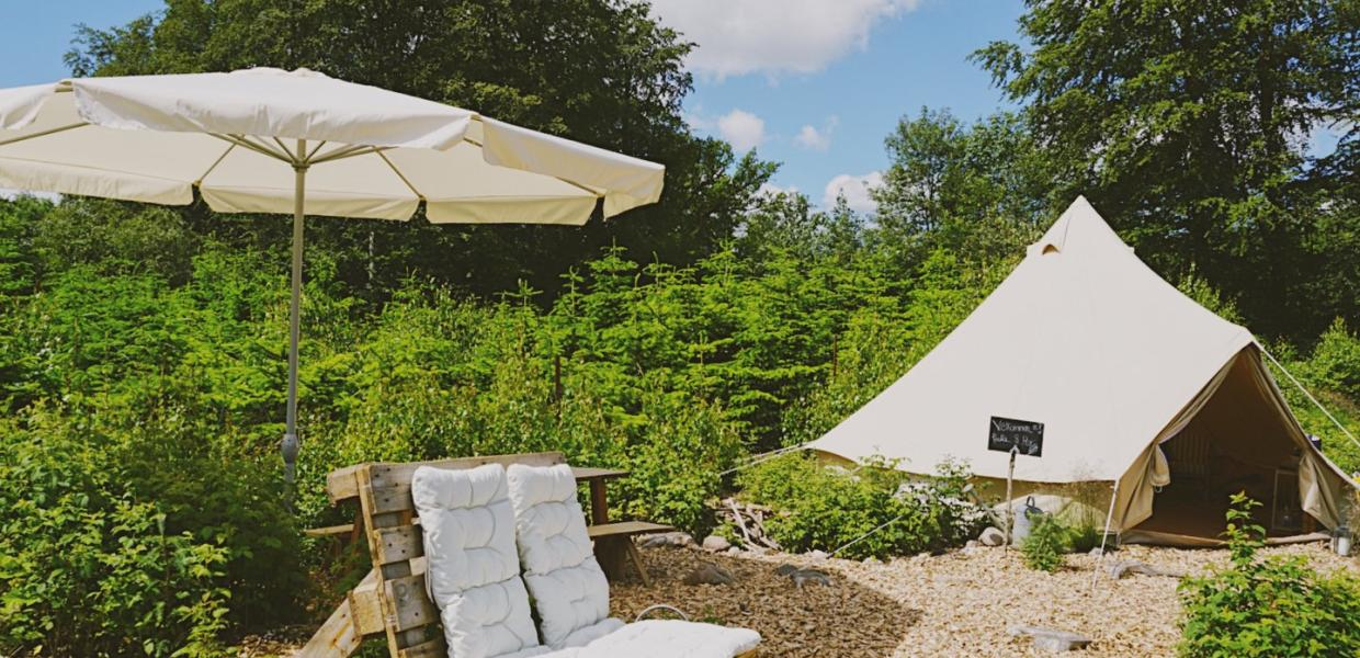 Go Glamping is located near Roskilde on Zealand
