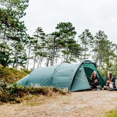 Wild Camping in Thy National Park.