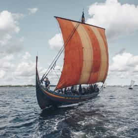 Find your inner Viking sailing a viking ship in Roskilde Fjord